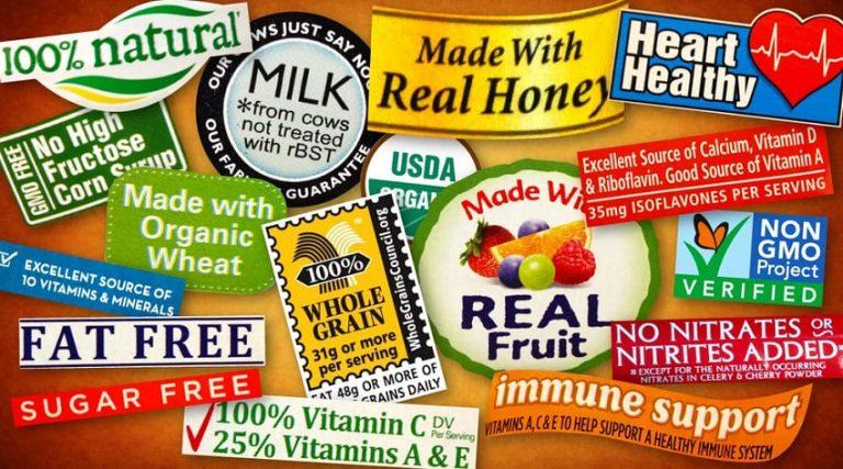 瞭解食材包裝袋子上的營養標籤